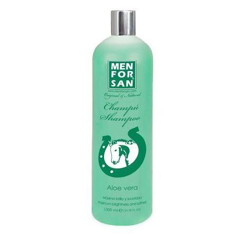 Menforsan Naturalny, leczniczny szampon z wyciągiem z aloesu dla koni 1000ml ze sklepu Mall.pl