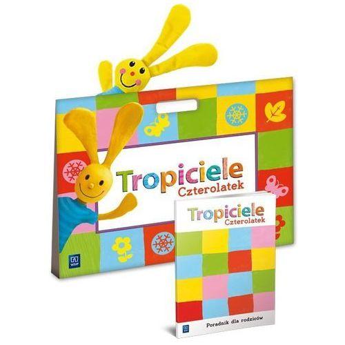Tropiciele, box dla 4-latka - edukacja przedszkolna - Praca zbiorowa (9788302143472)