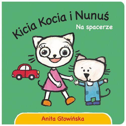 Kicia Kocia i Nunuś. Na spacerze (9788380083462)