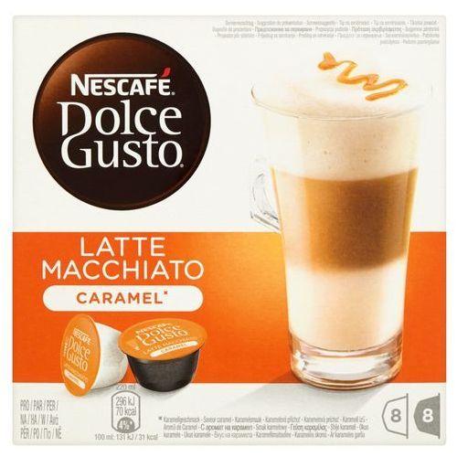 Dolce gusto Kapsuły nescafe latte macchiato caramel