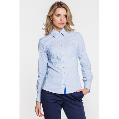 Duet woman Koszula błękitna w prążki -
