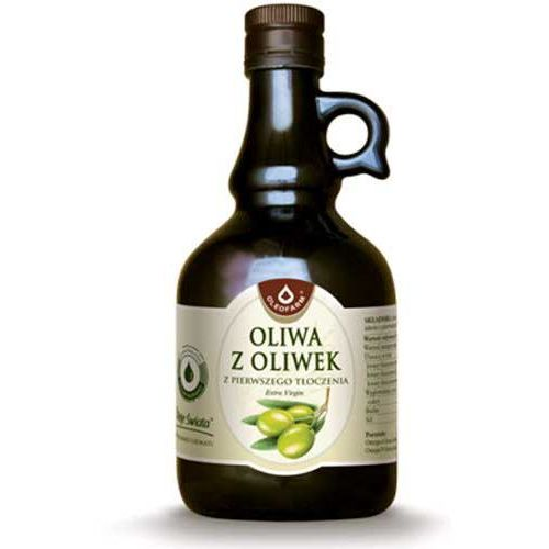 Oliwa z oliwek z pierwszego tłoczenia 500ml marki Oleofarm