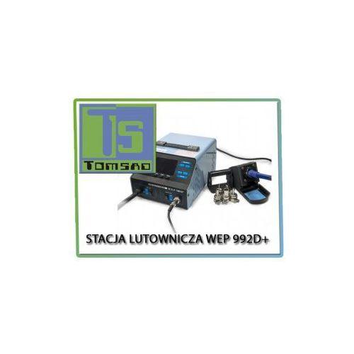 Stacja lutownicza WEP 992D+ 2 w 1 + kompresor
