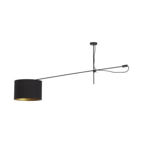 Asymetryczna lampa na wysięgniuku VIPER BLACK 6641 - Czarny
