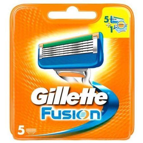 Fusion wymienne ostrza do maszynki do golenia 5szt marki Gillette
