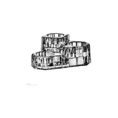 Świecznik kryształowy na świece podgrzewacze kryształ 5399, produkt marki Crystal Julia
