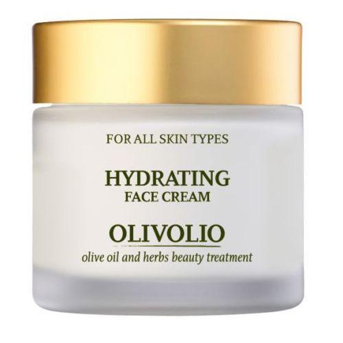 nawilżający krem do twarzy 50ml dla wszystkich rodzajów skóry marki Olivolio