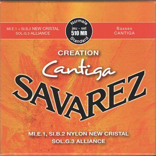 (656297) 510mr cantiga struny do gitary klasycznej - normal marki Savarez