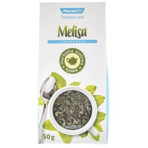 Melisa lekarska, herbata, 50 g - długi termin ważności! darmowa dostawa od 39,99zł do 2kg! marki Pharmovit