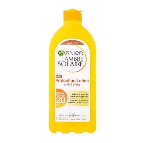 wodoodporny filtr przeciwsłoneczny spf 20 ambre solaire (ochrona płynem), 400 ml marki Garnier
