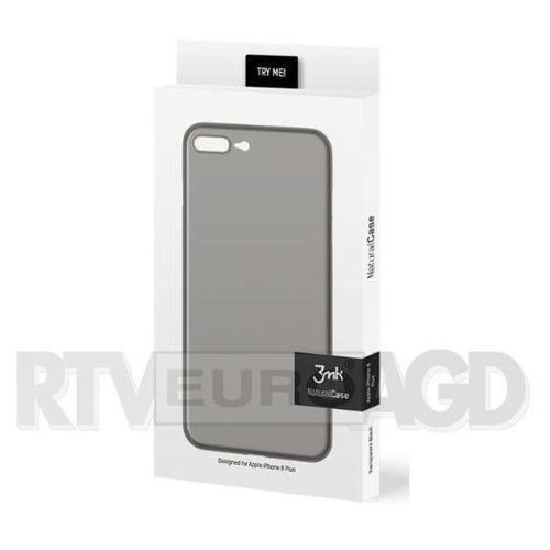 3mk Natural Case iPhone 8 Plus (czarny), kolor czarny