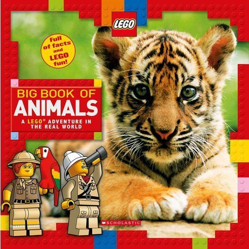Big Book of Animals (LEGO Nonfiction) (9781338130072)