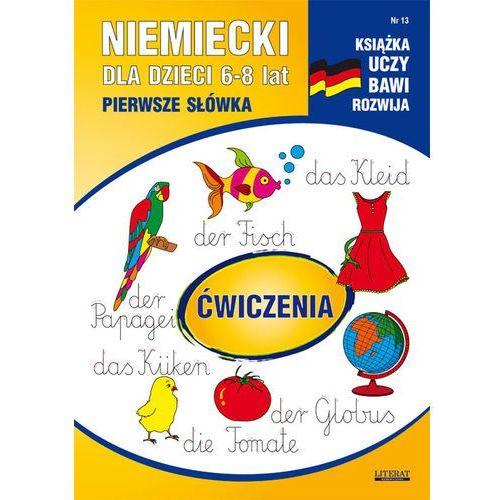 Niemiecki dla dzieci. Pierwsze słówka. Zeszyt 13 + zakładka do książki GRATIS, Literat