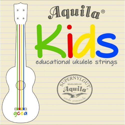 Aquila 138u kids kolorowe struny do ukulele