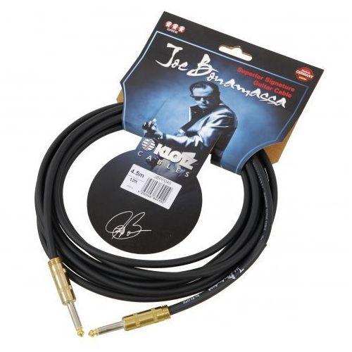 Klotz jbpp045 joe bonamassa kabel gitarowy 4,5m, jack-jack, pozłacane wtyki