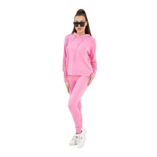 kim pearl buttons pu1121 pink dres damski, Vittoria ventini