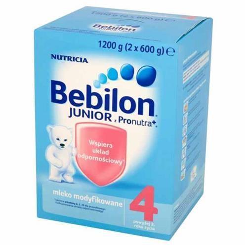 Bebilon Junior 4 z Pronutra+ mleko modyfikowane proszek 2 lata + 1200g, NUTRICIA POLSKA SP. Z O.O. Polska z Apteka od Pokoleń