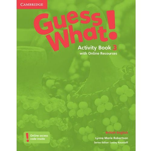 Guess What! 3 Activity Book with Online Resources - Wysyłka od 3,99 (9781107528031)