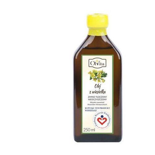 Olvita Olej z wiesiołka tłoczony na zimno nieoczyszczony 250 ml