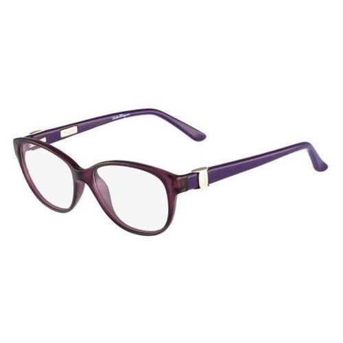 Okulary korekcyjne sf 2711 500 marki Salvatore ferragamo