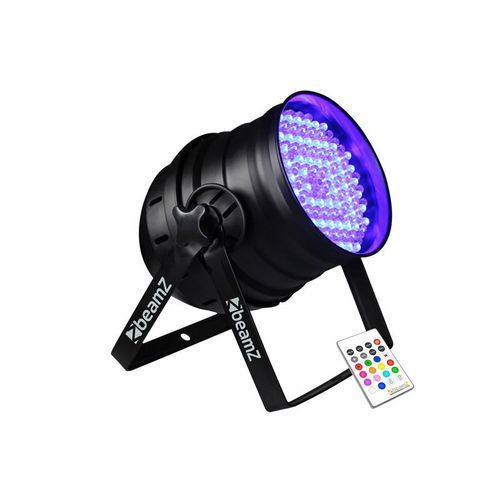 Efekt świetlny LED Beamz LED PAR 64 Can RGB IR DMX