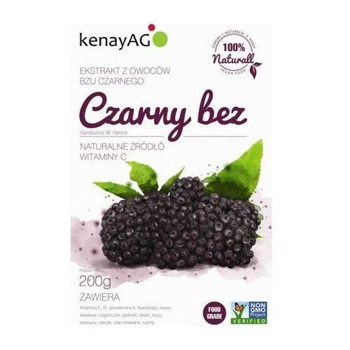 Kenay ag Czarny bez sproszkowany ekstrakt 200g (5900672151596)