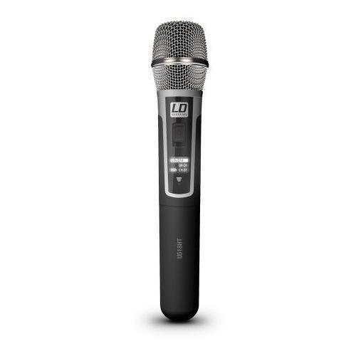Ld systems u518 mc doręczny mikrofon pojemnościowy