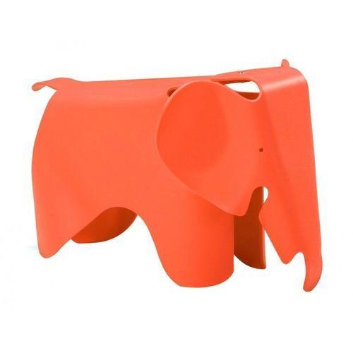 Stołek plastikowy SŁONIK pomarańczowy - polipropylen (5900168808744)