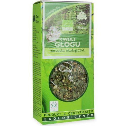 Dary natury - herbatki bio Herbatka kwiat głogu bio 50 g - dary natury (5902741004192)