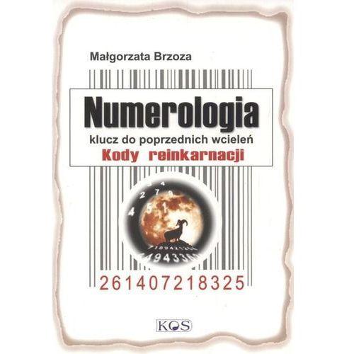 Numerologia. Klucz do poprzednich wcieleń, Małgorzata Brzoza