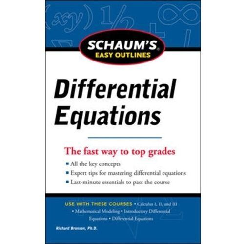 Schaum's Easy Outline of Differential Equations, Revised Edition