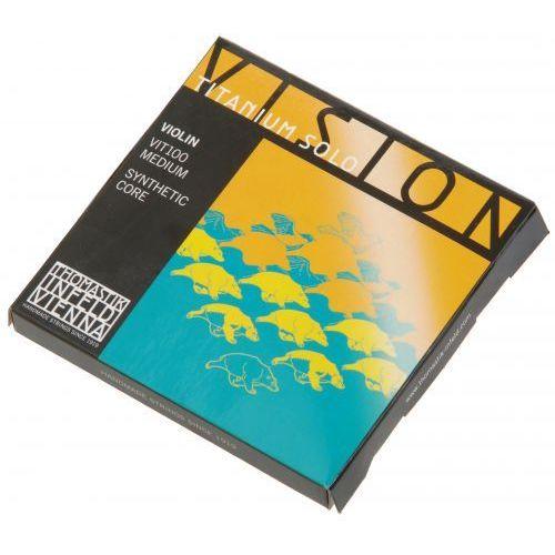 Thomastik (634209) vision titanium solo vit100 struny skrzypcowe 4/4