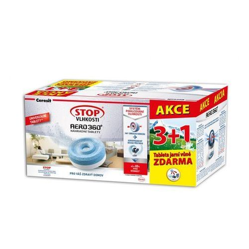 Ceresit Stop wilgoci AERO 360° tabletki wiosna 4 x 450 G - sprawdź w wybranym sklepie
