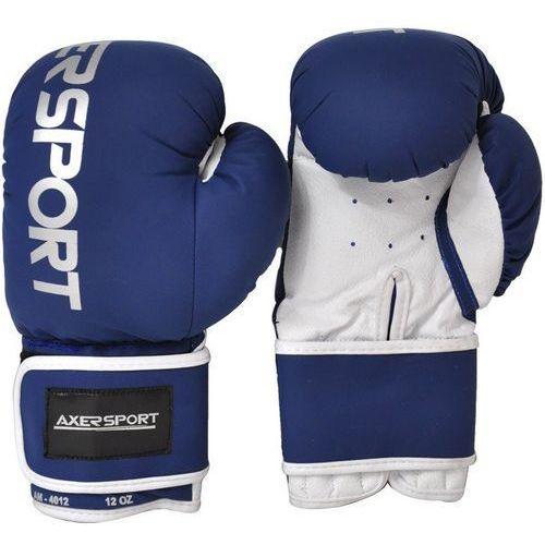 Axer sport Rękawice bokserskie a1345 granatowo-biały (8 oz)