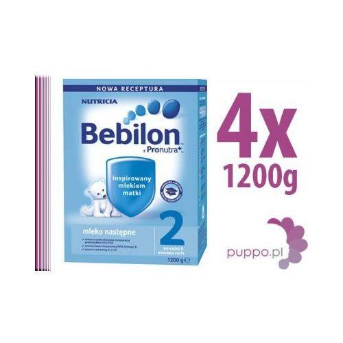 Bebilon 2 z pronutra 4 x 1200g Mleko (mleko dla dzieci) od puppo.pl