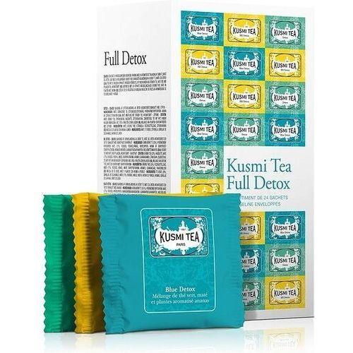 Herbaty full detox w zestawie 24 torebki marki Kusmi