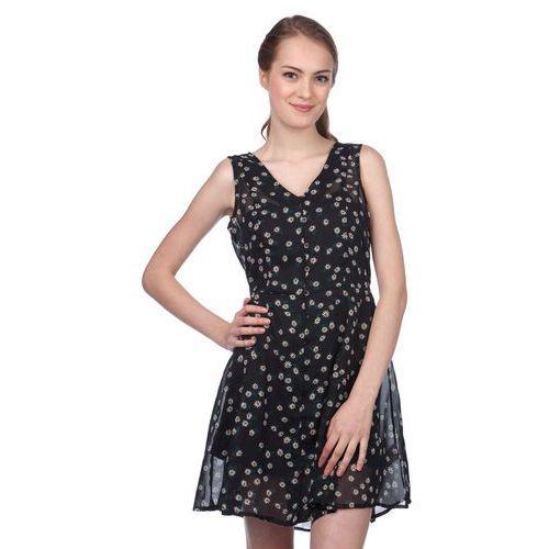 Brave Soul sukienka damska Trudy S czarny, kolor czarny