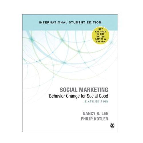 Social Marketing - International Student Edition Lee, Nancy Y. (9781544371863)