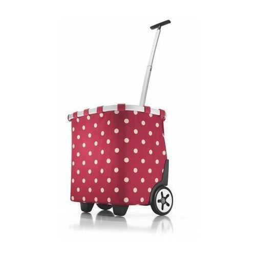 Wózek na zakupy Reisenthel Carrycruiser 40l, ruby dots