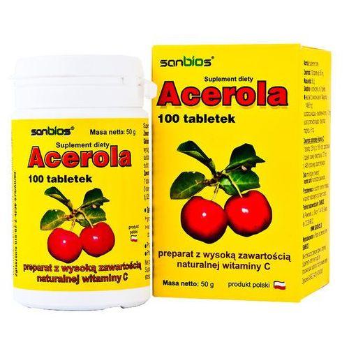 Acerola 500mg 100 tabletek (5908230845147)