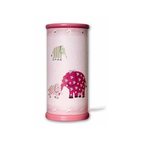 WALDI Lampka na biurko DG Pink Elephants - produkt dostępny w pinkorblue.pl