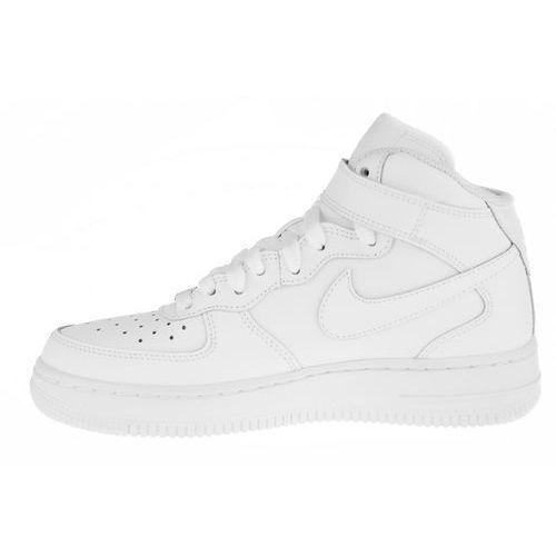 BUTY NIKE AIR FORCE 1 MID (GS) 314195-113, kolor biały