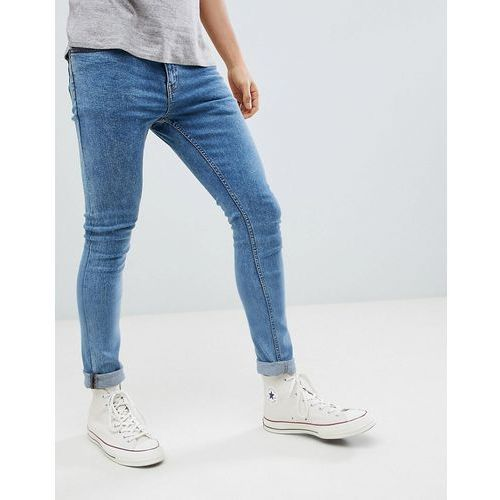 New look skinny jeans in light wash - blue