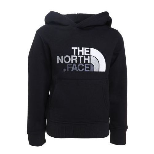 The North Face DREW PEAK Bluza z kapturem black/mid grey, kolor czarny