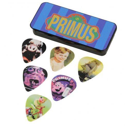 Dunlop Primus Medium zestaw kostek gitarowych 6 sztuk