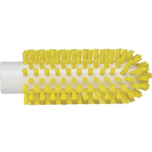Szczotka do czyszczenia rur i maszyn, twarda, żółta, średnica 50 mm, VIKAN 5380506 ze sklepu Gastrosilesia