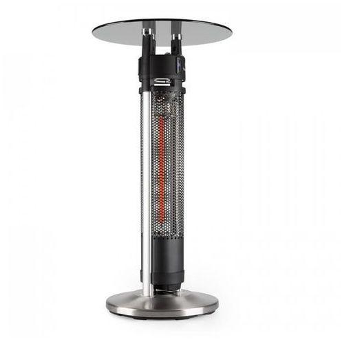 Blumfeldt Primal heat 95 stolik barowy promiennik podczerwieni carbon led 95cm