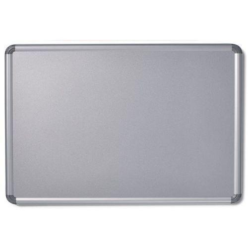 Office akktiv Tablica ścienna design, lakierowanie na kolor srebrny, szer. x wys. 1500x1000 mm