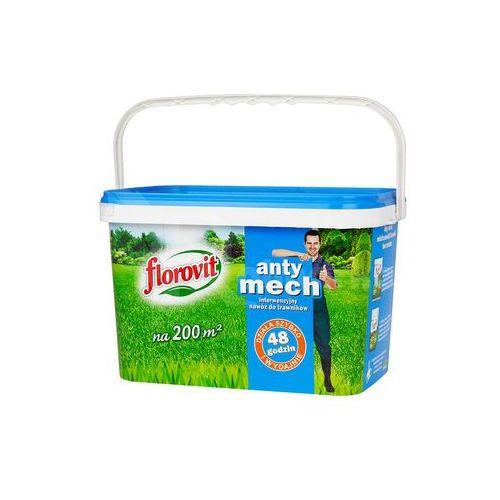 Florovit Antymech nawóz do trawnika : pojemność - 4 kg