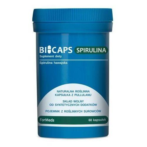 BICAPS SPIRULINA Naturalna roślinna kapsułka z Pullulanu - ForMeds